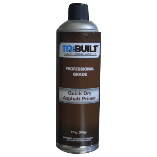 Quick Dry Asphalt Spray Primer - 17 Oz. Aerosol Can