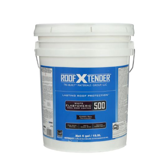 ROOF X TENDER® 500 Elastomeric Cool Roof Coating - 5 Gallon Pail