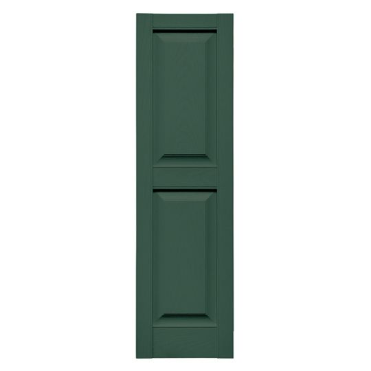 Standard Cottage Style Raised Panel Shutters (Pair)