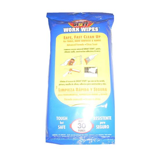 GREAT STUFF™ Work Wipes - Pack of 30