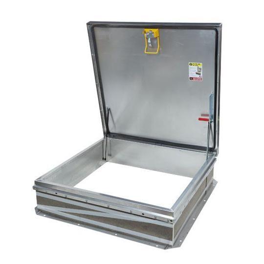 "48"" x 48"" Aluminum Roof Hatch - HC Zone"