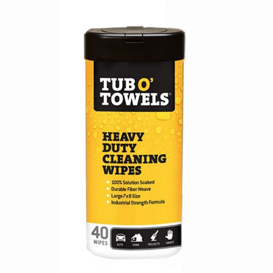 Tub O' Towels® Multi-Purpose Scrubbing Wipes - Canister of 90