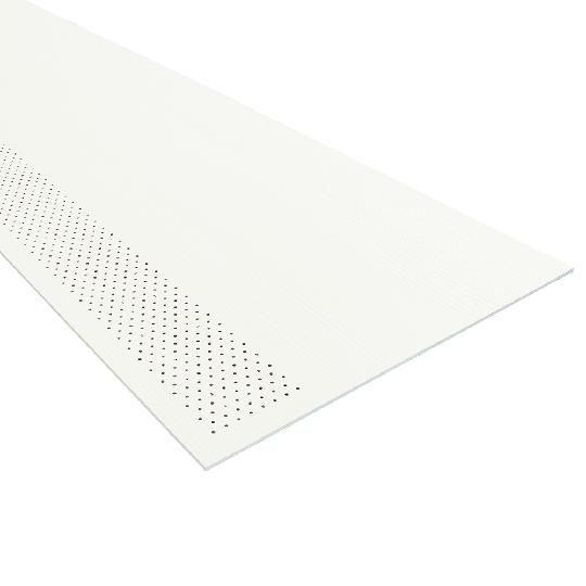 "1/4"" x 24"" x 8' HardieSoffit® Vented-Cedarmill Panel for HardieZone® 10"