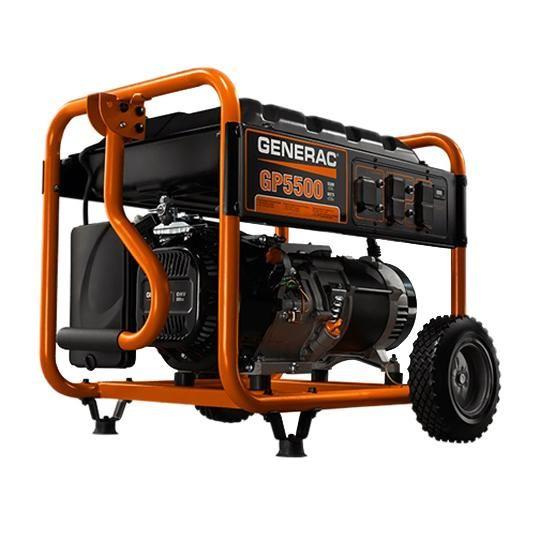 5,500 Watt Portable Generator