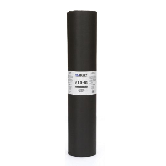 "36"" x 144' #15 Non-Spec Asphalt Saturated Roofing Felt - 4 SQ. Roll"