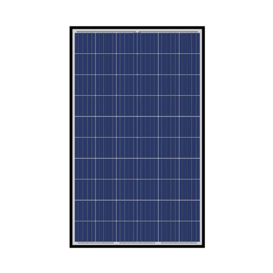 40 mm 265 Watt SN-Series 60-Cell Poly-Crystalline PV Module with Black Frame