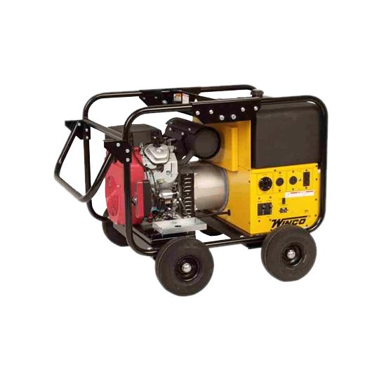 Winco 12kw Generator with Non-Flat Lite Tires