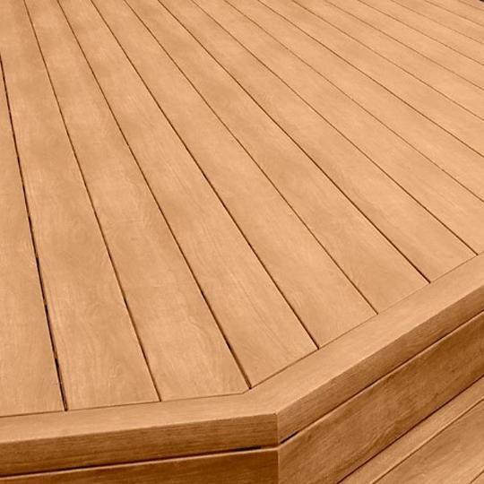 "5/4"" x 6"" x 20' Zuri® Grooved Deck Board"