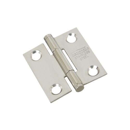 """1-1/2"""" Stainless Steel Door Hinge - Pack of 2"""
