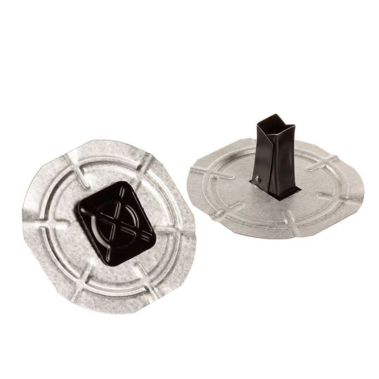 """Drill-Tec™ 1.7"""" Leg Base Sheet Fasteners with 2.7"""" Plates"""
