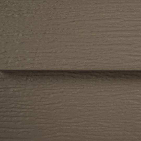 """TruCedar® Single 6"""" Foam-Backed Steel Siding"""