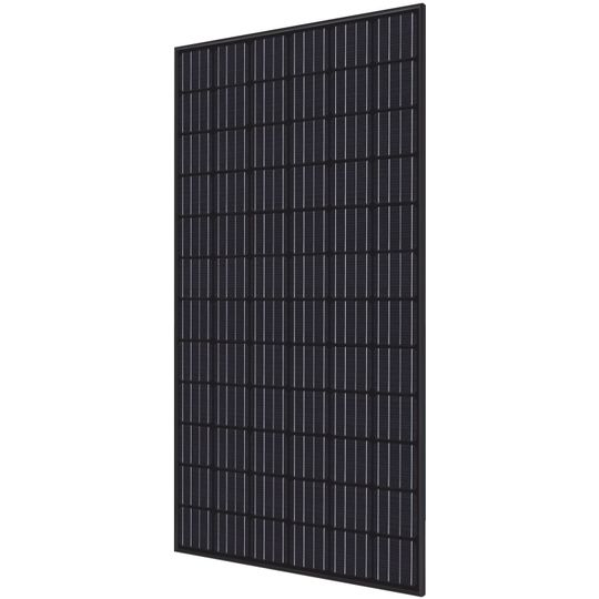 40 mm 350 Watt RI-Series 72-Cell Mono-Crystalline Type Solar Module with All Black Frame