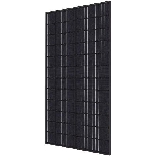 40 mm 350 Watt RI-Series 72-Cell Mono-Crystalline Type Solar Module with All Black Frame