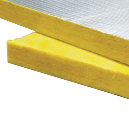 "1-1/2"" x 4' x 8' Fiberglas™ 703 Unfaced Insulation Board - 256 Sq. Ft. Bag"