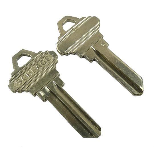 35-101 Blank EF 6-Pin Key