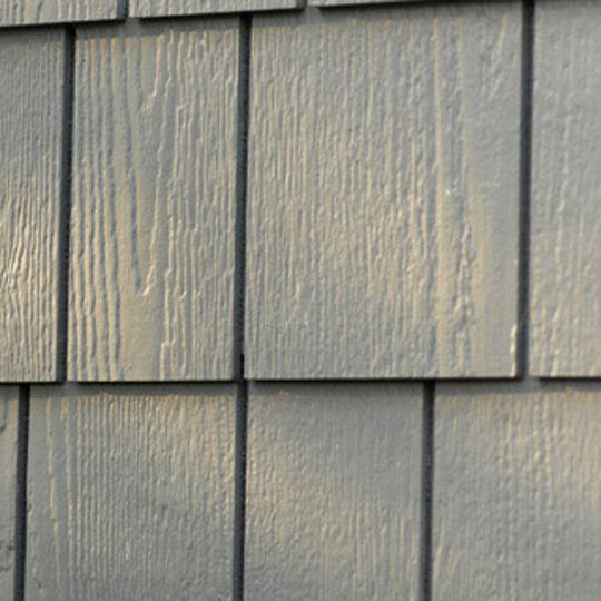 """16"""" x 48"""" Traditional Staggered Edge Fiber Cement Siding Shingle"""
