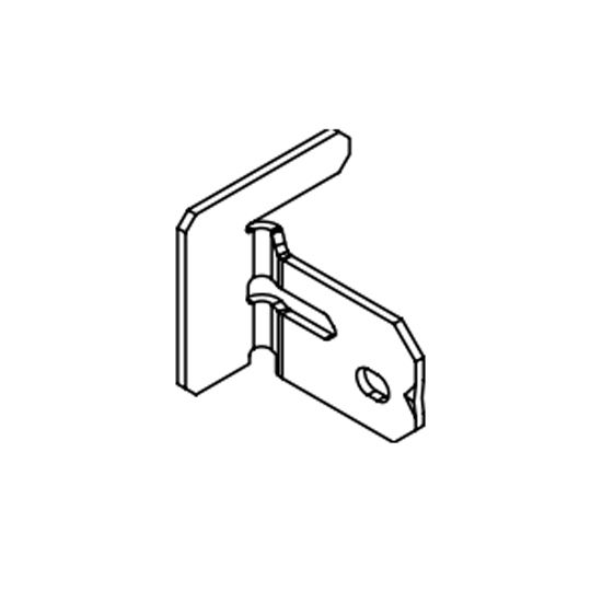 Single Tee Adapter Clip