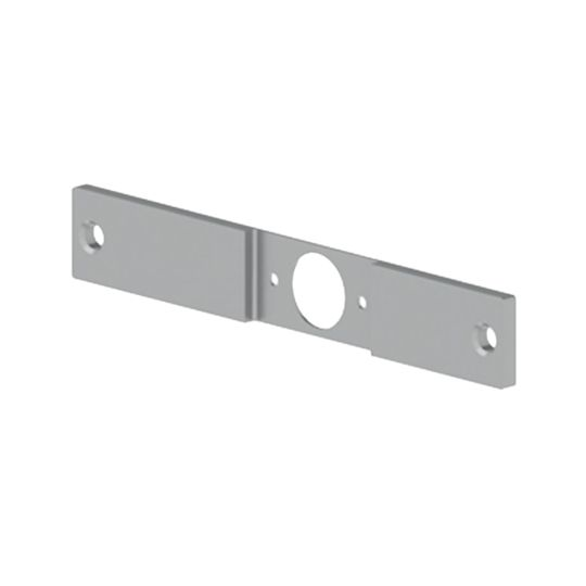 """.238"""" x 1-1/4"""" x 8"""" 336N Latch Adapter Filler Plate - 86 to 161 Edge Prep"""