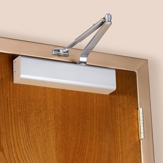 Norton 8301 Series Door Closer with Tri-Style Packaging Standard with Slim Line Plastic Cover