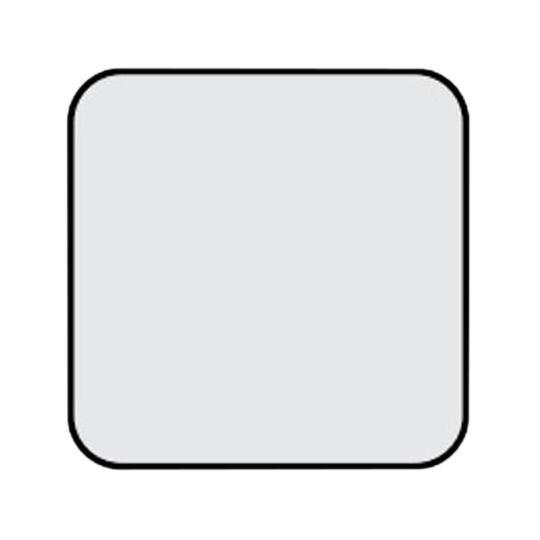 "(5635) 7/8"" x 4' x 4' SoundScapes® Shapes Cut-Corner Square Acoustical Panels with 6"" Radius"