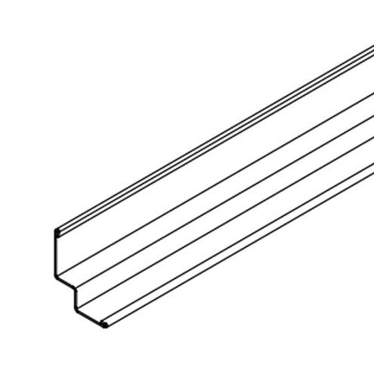"15/16"" x 15/16"" x 10' Seismic Compatible Shadow Molding with 3/8"" Reveal - 300 Lin. Ft. per Carton"