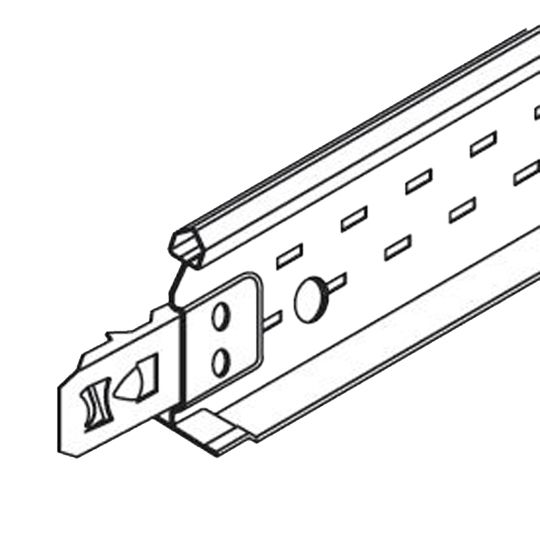 "(XL7342) 15/16"" x 1-1/2"" x 4' Prelude® XL Cross Tee with 12"" O.C. Rout Spacing - 240 Lin. Ft. Carton"