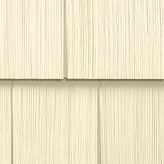 "Cedar Impressions® Double 7"" Straight Edge Perfection 3G Polymer Shingle Siding"