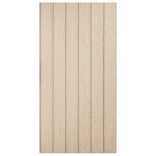 "38 Series Cedar Texture Primed Panel 8"" O.C. Engineered Wood Siding"
