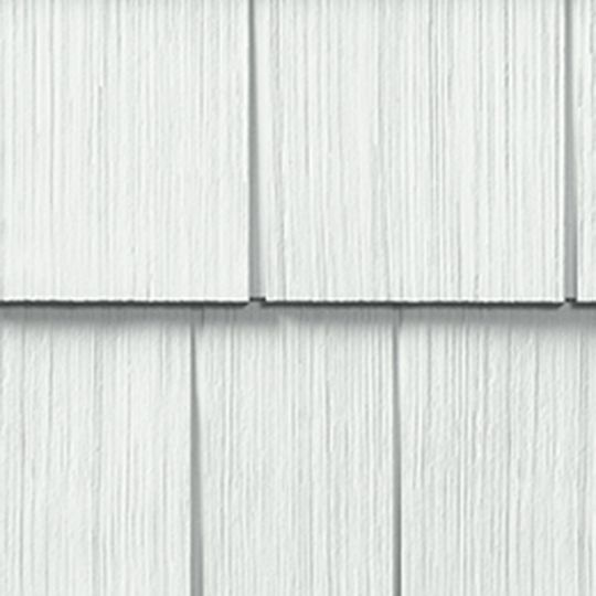 "Cedar Impressions® Double 7"" Straight Edge Perfection 3G Polymer Shingle Siding"
