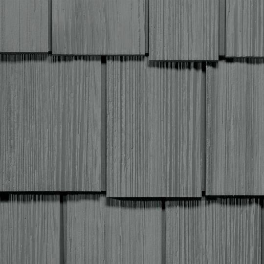 "Cedar Impressions® Double 9"" Staggered Rough-Split Polymer Shake Siding"