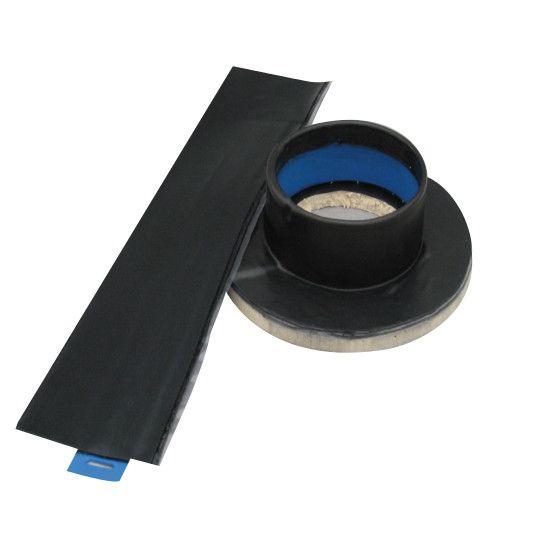 "Carlisle Syntec 4"" Sure-Seal® EPDM Pressure-Sensitive Pourable Sealer Pockets Black"