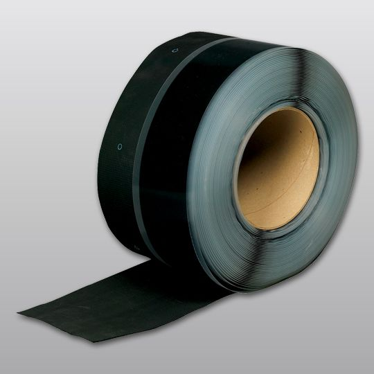 "Carlisle Syntec 75 mil 9"" x 100' Sure-Seal® EPDM Pressure-Sensitive RUSS Black"