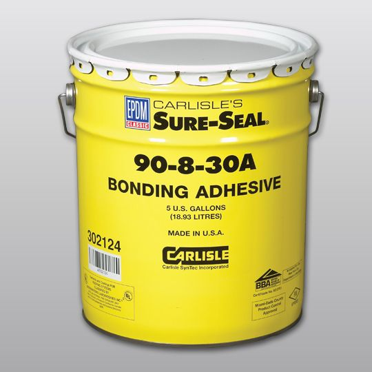 Carlisle Syntec 90-8-30A EPDM Bonding Adhesive 5 Gallon Pail Yellow