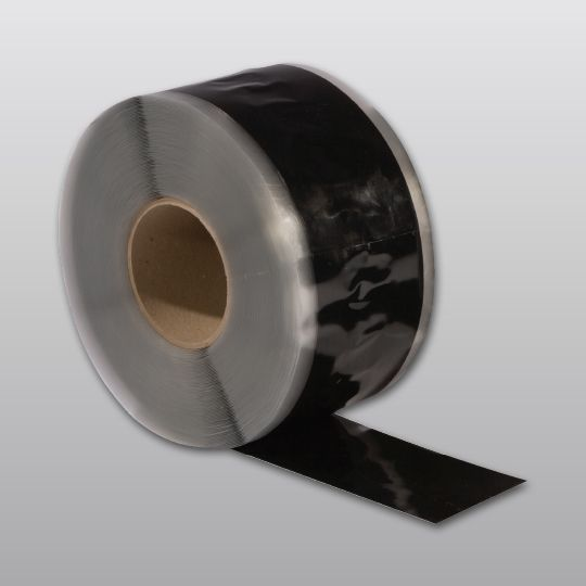 "Carlisle Syntec .03"" 3"" x 100' Sure-Seal® EPDM Pressure-Sensitive SecurTAPE™ Black"