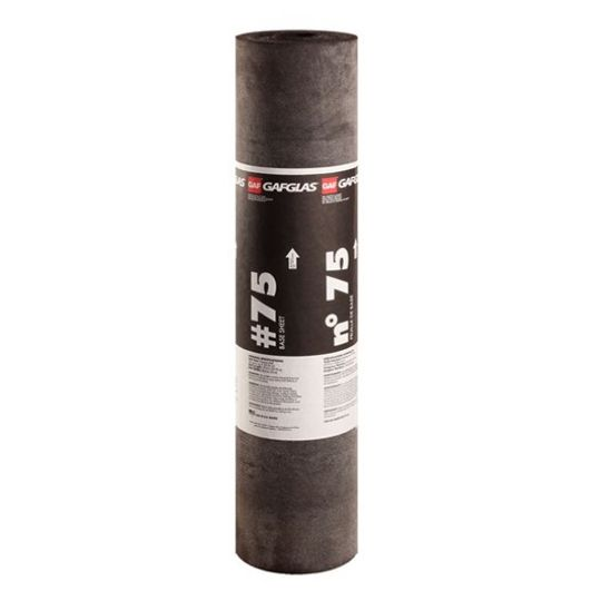 """GAF 39-3/8"""" x 97'6"""" GAFGLAS® #75 Base Sheet 3 SQ. Roll"""