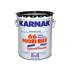 Karnak #66AF Modified Bitumen Adhesive Trowel Grade - 5 Gallon Pail