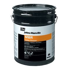 Johns Manville MBR Utility Cement Summer Grade - 5 Gallon Pail