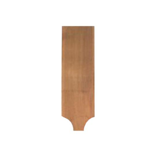 "Capital Forest Products 18"" #1 Grade Wastern Red Cedar Fancy Cut Half-Cove"