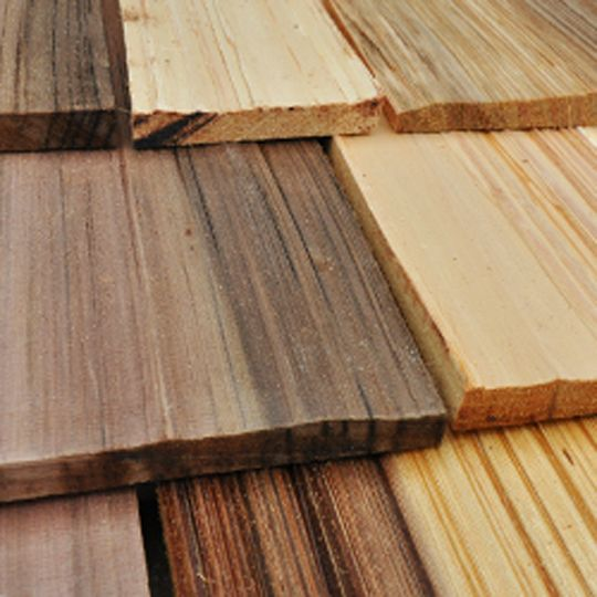 "Watkins Sawmill 24"" Western Red Cedar Medium Hand Split Shakes"
