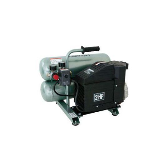 Hitachi Portable 4 Gallon Twin Stack Air Compressor