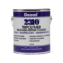 Geocel 2310 Tripolymer Brushable Repair Coating - 1 Gallon Can