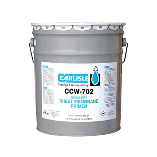 Carlisle Coatings & Waterproofing 702 Adhesive - 5 Gallon Pail Blue