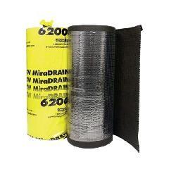 Carlisle Coatings & Waterproofing 4' x 50' MiraDRAIN® 6200 Drainage...