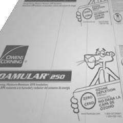 "Owens Corning 2"" x 4' x 8' FOAMULAR® 250 Scoreboard (SB) Extruded..."