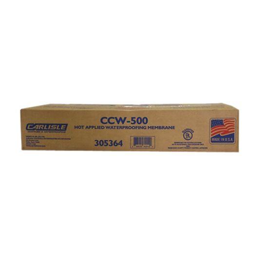 Carlisle Coatings & Waterproofing 500 Hot-Applied Waterproofing Membrane - 45 Lb. Block