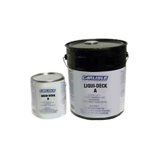 Carlisle Coatings & Waterproofing Liqui-Deck - 4 Gallon Kit Black