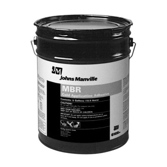 Johns Manville MBR Cold Application Adhesive - 5 Gallon Pail Black