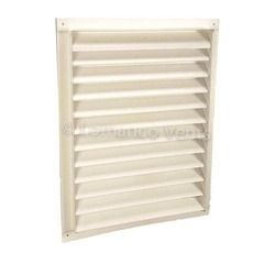 "Lomanco 18"" x 24"" 200-Series Square Recess Mount Gable Louver"
