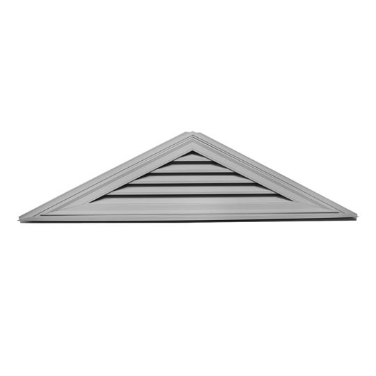 "Mid-America Siding Components 18"" x 72-1/2"" Triangle Gable Vent with 6/12 Pitch Paintable (030)"