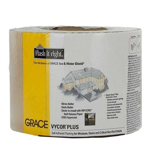"GCP Applied Technologies 6"" x 75' Vycor® Plus Black-Grey"